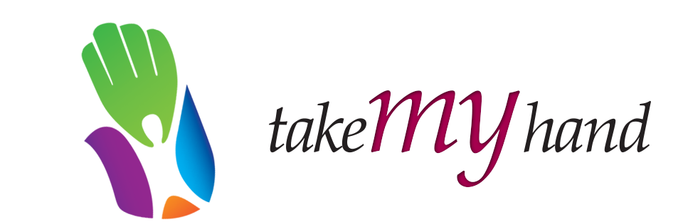 Take My Hand Logo